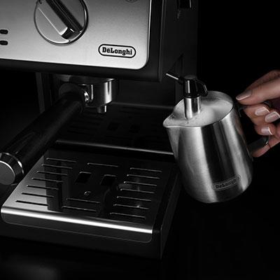 تهیه فوم شیر با قهوه ساز ECP33..21
