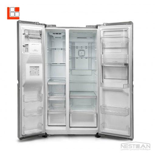 یخچال فریزر ساید بای ساید ال جی مدل SXB550