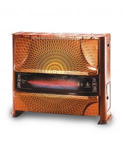 بخاری گازی شارق توس مدل آذر 150 گرافیک
