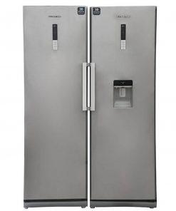 یخچال فریزر دوقلوی هاردستون مدل NR14 HD2-NF14 HD2 Slim Silver