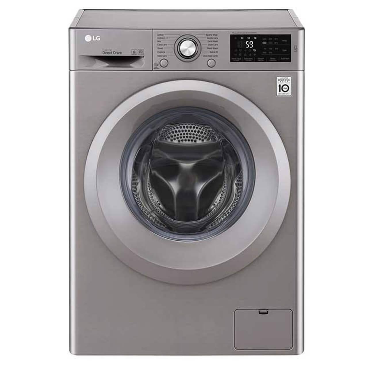 ال جی ماشين لباسشويي ال جي مدل WM-721N ظرفيت 7 کيلوگرم | LG WM-۷۲۱N Washing Machine - ۷ kg