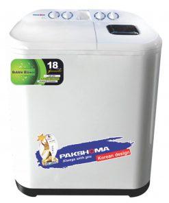 ماشین لباسشویی دوقلو پاکشوما مدلPWT8525LN ظرفیت 8.5 کیلوگرم