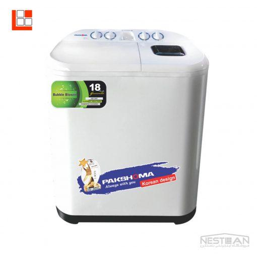 ماشین لباسشویی دوقلو پاکشوما مدلPWT8525LN