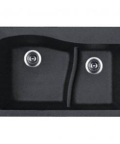 سینک دو لگنه گرانیتی توکار کن مدل Qzl3322