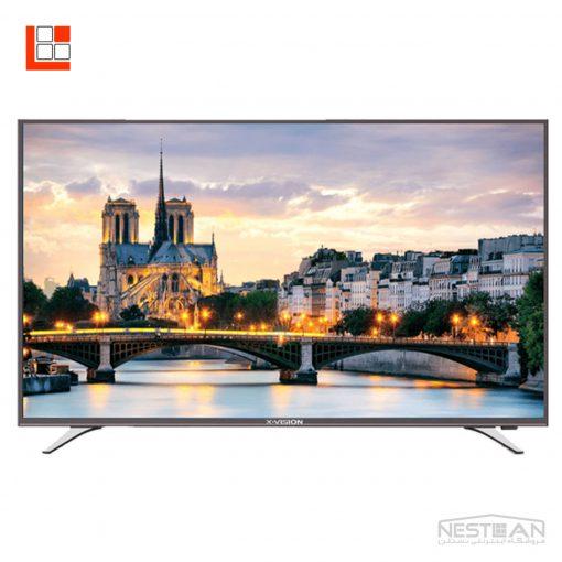 تلویزیون ال ای دی هوشمند ایکس ویژن 55XT515