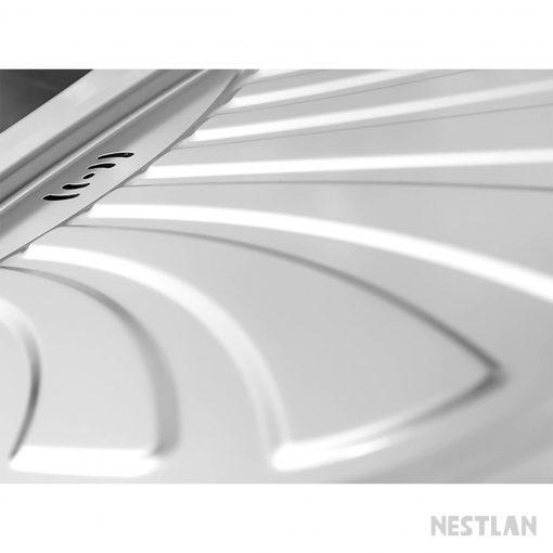 سینک دو لگن توکار درسا DS122 از نمای نزدیک
