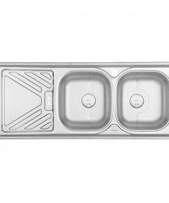 سینک دو لگن توکار درسا مدلDS521
