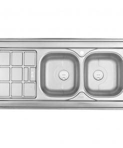 سینک دو لگن روکار درسا مدل DS723