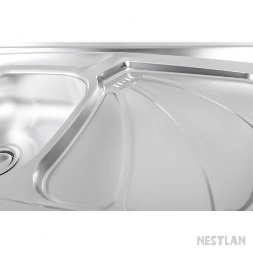 سینک روکار درسا DS730 از نمای نزدیک
